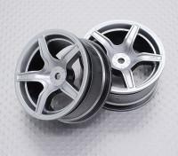 Escala 1:10 de alta qualidade Touring / tração das rodas do carro de RC 12 milímetros Hex (2pc) CR-C63s