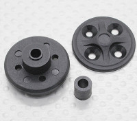 Spur Gear Set Holder - 1/10 Hobbyking Mission-D 4WD GTR drift Car