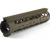 Dytac Invader Lite 9 polegadas Rail System (Terra Preta)