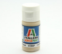 Italeri tinta acrílica - Areia Plano