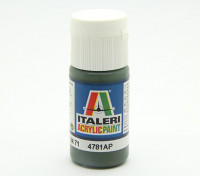 Italeri Pintura acrílica - dunkelgrün RLM 71