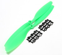 Turnigy Slowfly Hélice 10x4.5 Green (CCW) (2pcs)