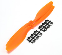 Turnigy Slowfly Hélice 10x4.5 Orange (CCW) (2pcs)