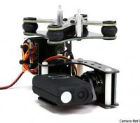Turnigy Mobius 2 eixos cardan com controlador Tarot e AX2206 Motors