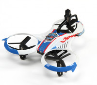 MINI UFO Y-4 Micro Multicopter w Transmissor / 2,4 GHz e Auto-Flip Característica (Modo 2) (pronto para voar)