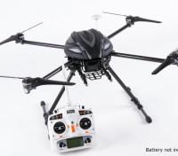 Walkera QR X800 FPV GPS Quadrotor, retrai, DEVO 10, w / out bateria (Modo 2) (pronto para voar)