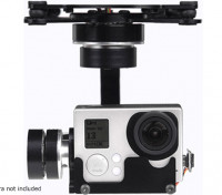X-CAM A10-3H 3 Axis 360deg rotação GoPro Gimbal Com A / V Ligação