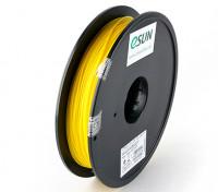 Filament Printer ESUN 3D amarelo 1,75 milímetros PLA 0.5KG Spool