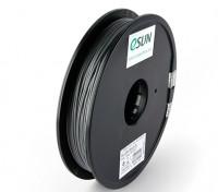 ESUN 3D Filament Printer prata 1,75 milímetros PLA 0.5KG Spool