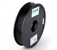 ESUN 3D Filament Printer Preto 1,75 milímetros ABS 0.5KG Spool