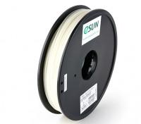Printer ESUN 3D Filament Natural 1,75 milímetros ABS 0.5KG Spool