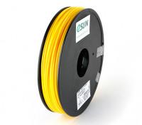 ESUN 3D Filament Printer 3 milímetros Amarelo ABS 0.5KG Spool