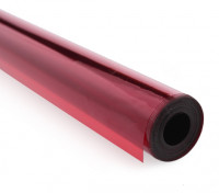 Cobertura Film transparente vermelho (5mtr) 201