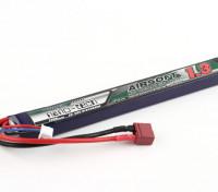 Turnigy nano-tecnologia 1300mAh 2S 25 ~ 50C Lipo AIRSOFT Pack (T-conector)