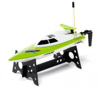 FT008 alta velocidade Mini RC Boat - Green (RTR)