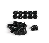Retentores de plástico para amortecimento de vibrações Balls (10pcs)