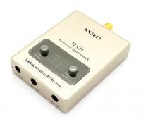 RX-5822 5.8GHz 32CH sem fio receptor A / V com cabos A / V e de energia