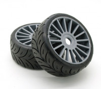 "Xceed ""Game Rally"" set 1/8 Tire - Macio (1pair)"