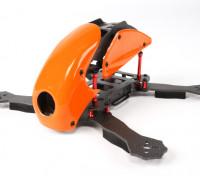 HobbyKing ™ Robocat 270 milímetros carbono verdadeiro Corrida Drone (Laranja)
