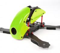 HobbyKing ™ Robocat 270 milímetros carbono verdadeiro Racer Quad (verde)