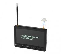 """""""10"""" """"monitor de diversidade FPV com PIP (plug EUA)"""""""