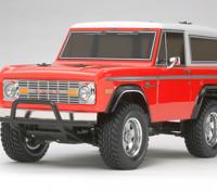 Tamiya 1/10 Escala Ford Bronco 1973 / CC01 Series Kit 58469