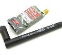 ImmersionRC Corrida Banda 600mW 5.8GHz um transmissor / V