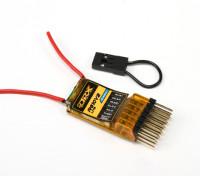 OrangeRx R610V2 Lite DSM2 receptor 6CH 2,4 GHz Compatível w / CPPM