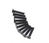 pcs de metal plana Machine Head Hex Screw M2.5x14-10 / set
