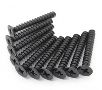 pcs de metal plana Machine Head Hex Screw M2.5x22-10 / set