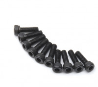 pcs de metal soquete Machine Head Hex Screw M2.5x8-10 / set