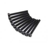 pcs de metal soquete Machine Head Hex Screw M2.5x22-10 / set