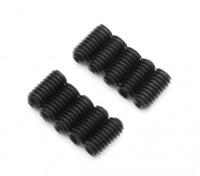 Metal Grub parafuso pcs M2.5x5-10 / set