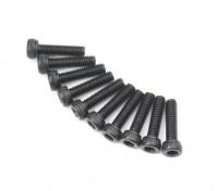 Metal soquete Machine Head Hex Screw M2.6x10-10pcs / set