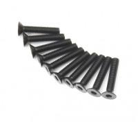 Machine Head metal plana Hex Screw M3x16-10pcs / set