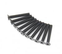 Machine Head metal plana Hex Screw M3x22-10pcs / set
