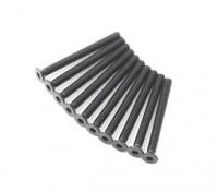 Machine Head metal plana Hex Screw M3x32-10pcs / set