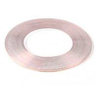 Auto-adesiva de cobre Tape 0,09 x 3mm (50 metros)