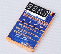 Cartão de programação HobbyKing® ™ para carro ESC
