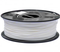 HobbyKing 3D Filament Printer 1,75 milímetros PLA 1KG Spool (branco)