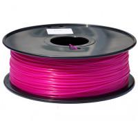 HobbyKing 3D Filament Printer 1,75 milímetros PLA 1KG Spool (rosa escuro)