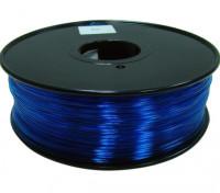 HobbyKing 3D policarbonato Filament Printer 1,75 milímetros ou PC 1KG Spool (Translucence azul)