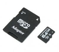 10 Cartão Turnigy 64GB Classe Micro SD de memória (1pc)