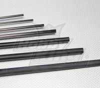 Fibra de Carbono Tubo (oca) 4x750mm