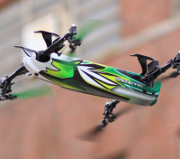 Assalto ceifeira 500 Collective Passo 3D Quadrotor (Modo 2) (Ready to Fly Lite)