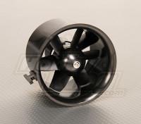 EDF Ducted Fan Unit 6Blade 70 milímetros 2.75inch