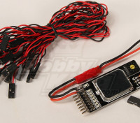 Receptor multi-remoto operado on / off Interruptor