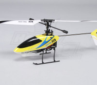 Solo Pro 328 4CH fixado pitch Helicopter - Amarelo (RTF) plug EUA