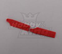 450 Tamanho Heli Red Cauda Lâmina (par)