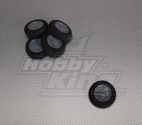Luz espuma roda Diam: 55, Largura: 18,5 milímetros (5pcs / bag)